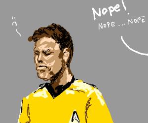 Kirk gets turned down