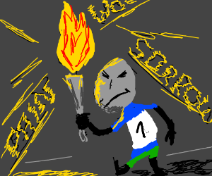 I am the torchbearer of sorrow