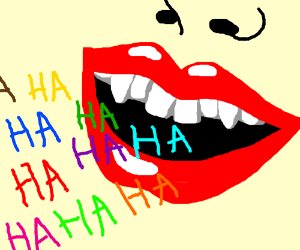 The many colors of laughter