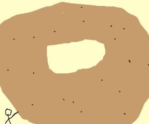 Huge Bagel