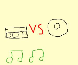 cassette battles CD