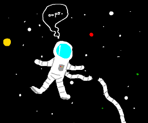 any astronaut lost in space - photo #45