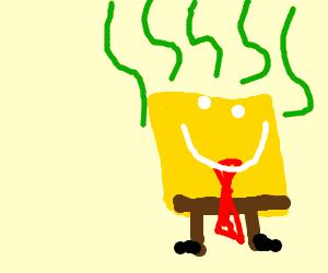 stinky and happy spongebob squarepants