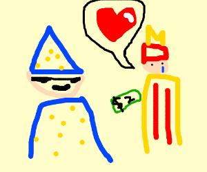 wizard making mcdonalds worker's wish cometrue