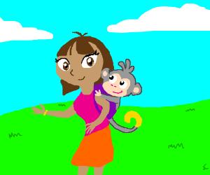 Dora the Explorer all grown up!