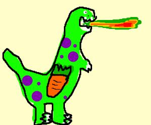 greenfire-breathingdinow/purplespots&carrot