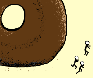 Attack of the Giant Bagel