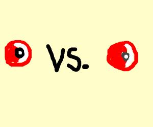 a pokemon battle