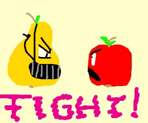 Pears vs Apples!