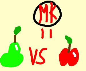 Mortal Kombat: Pear vs. Apple