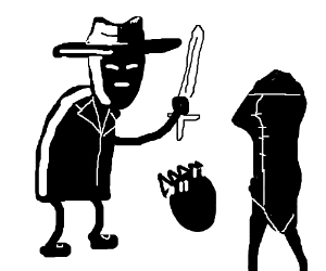 Spades Slick beheads the Black Queen