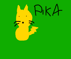 Pikachu is a cat, not mouse