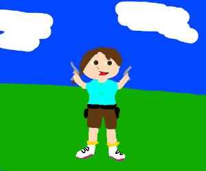 Lora the Explorer, Dora's older sister.