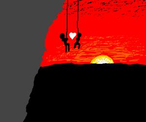 A rock climber's dream date