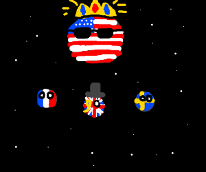America-Ball dominates the Solar System