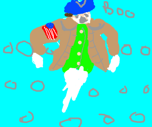 Colonial American soldier ghost tries to haunt