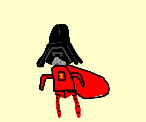 Dark Helmet gets a new red suit