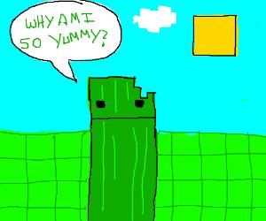 New minecraft mod: cucumber mob