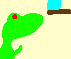 A dinosaur's worst nightmare