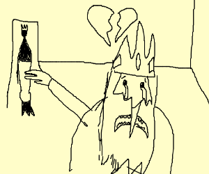 Ice queen is separated from ice king