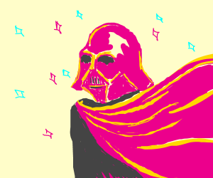 pink Darth Vader is FABULOUS!!
