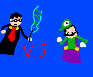 Harry Potter vs. Luigi