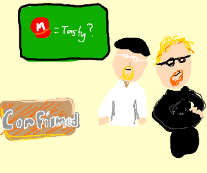Mythbusters confirm that Mario's hat is tasty