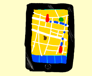 the map app for ipad