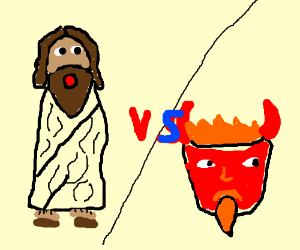 Black Jesus vs Ginger Satan