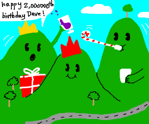 The hills have birthday parties