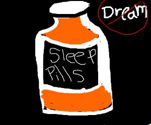Dreamless sleep pills