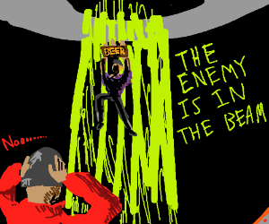 THE ENEMY IS IN THE BEAM(TF2)