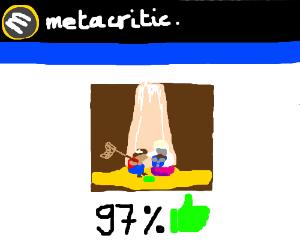 Undertale 97/100 Metacritic Best Game Ever - Drawception