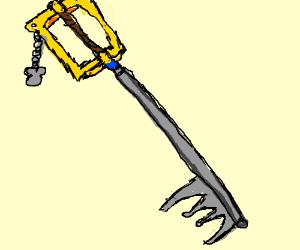 Any keyblade you want!