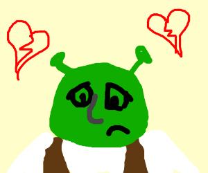 Shrek needs love