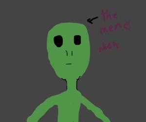 Ayy lmao alien...