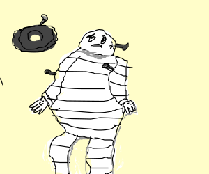Sad Michelin man