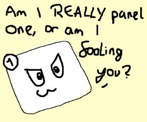 I am panel 2. Definitely.