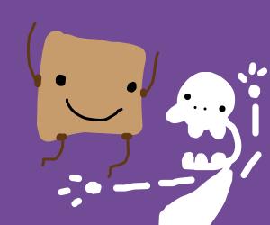 Clunse jumps skeleton