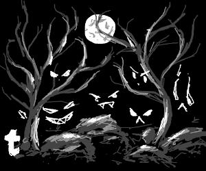 Eerie things lurk in the night