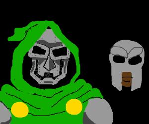 Doctor Doom meets MF Doom
