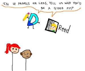 Drawception job interview