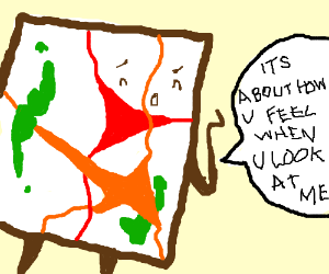 Abstract art attempts to explain itself
