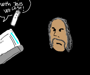 Anti-semitic Wii annoys disembodied face