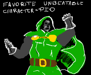 Favorite unbeatable character PIO (Hard Hat)