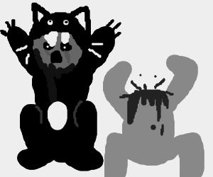 Cats eat humans