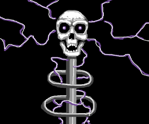 electric skull generator thing
