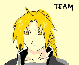 I'm on Team Edward... ELRIC!