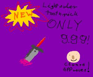 Light Saber Toothpick