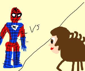 Spiderman VS Spider-man!